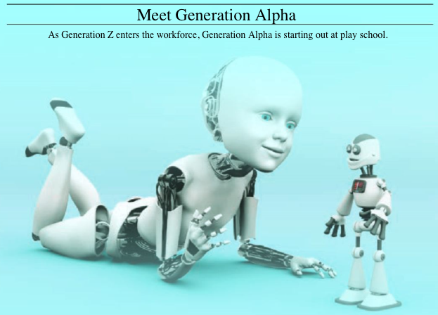 Mommy's little cyborg - meet generation alpha - generational trends