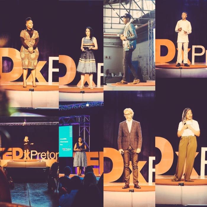 TedXpretoria speakers futures trends game changing ideas