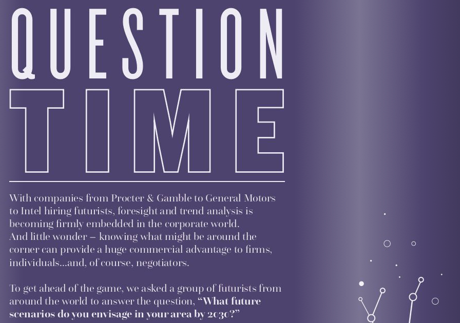 Question Time with Futurists