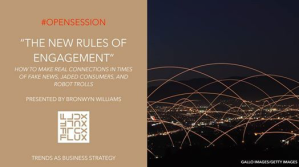 The new rules of engagement - keynote speaker bronwyn williams