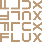 beige-flux-logo-vector