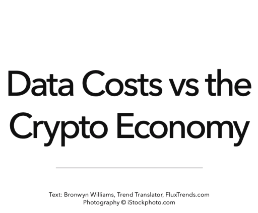 data costs and the crypto economy south african futures