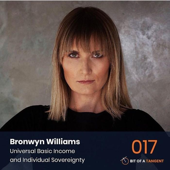 bronwyn williams futurist on universal basic income