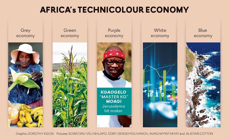 Africa's technicolour economy